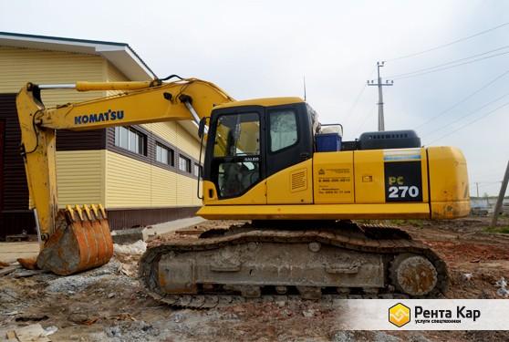 Komatsu pc270